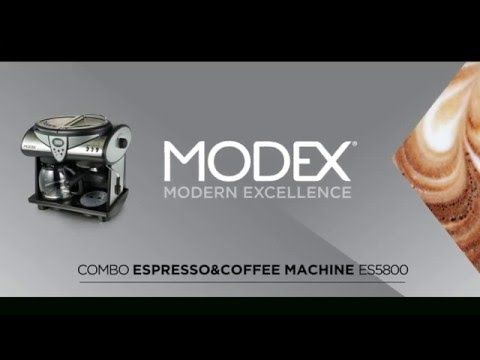 MODEX COFFEE MACHINE Product Video