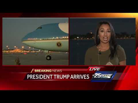 First family arrives in South Florida
