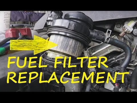 TOYOTA FUEL FILTER CHANGE - YouTube