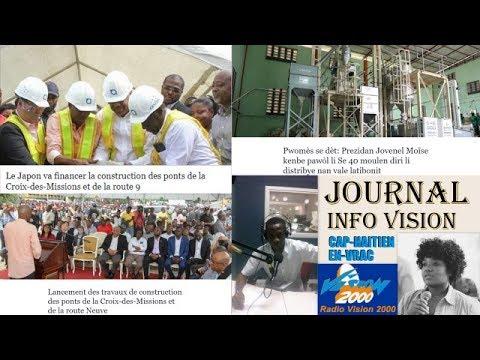 Journal Info Vision Samedi 20 JANVIER 2018 sur CAP HAITIEN EN VRAC