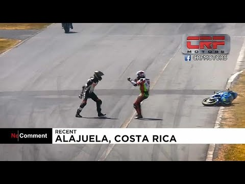 شاهد: تشابك للدراجات النارية في كوستاريكا ينتهي بلكمات وعراك…  - نشر قبل 3 ساعة