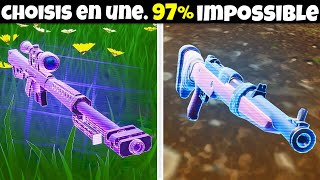 ES-TU MEILLEUR QUE NINJA ET GOTAGA ? TEST (97% IMPOSSIBLE) - FORTNITE