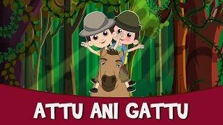 Attu Ani Gattu - New Marathi Balgeet & Badbad Geete | Latest Marathi Kids Song 2015