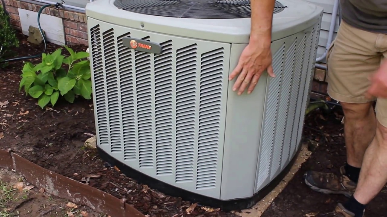 How To Remove Shroud Cover From Trane Xb13 Air Conditioner