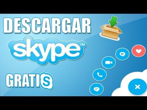 Como Descargar e instalar Skype Para PC Gratis  Fácil y Rápido en Español 2018