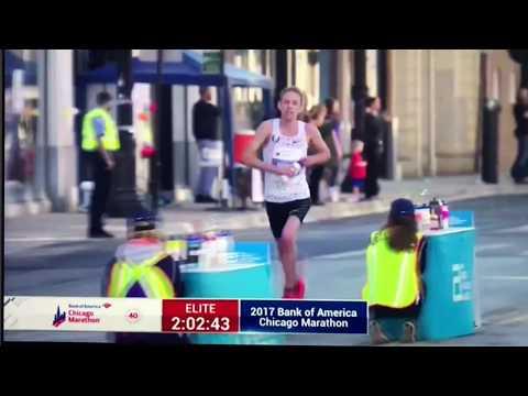 2017 Chicago Marathon 芝加哥馬拉松 Galen Rupp 最後衝線