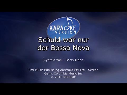 Schuld war nur der Bossa Nova -- Manuela Karaoke