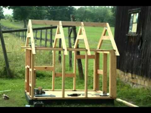 Homemade DIY dog house plans making ideas YouTube