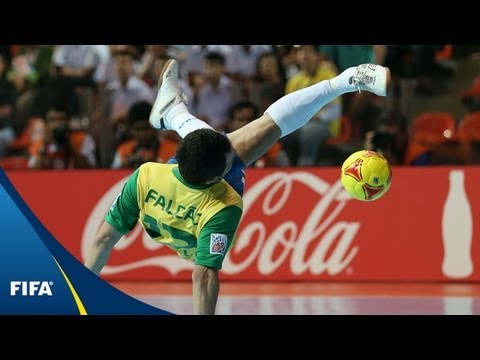 Meet Futsal's Falcao: A Brazilian Legend