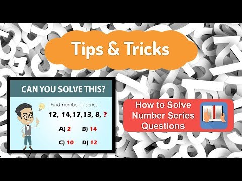 Wipro & TCS | Tips & Tricks | Number Series: Solved Logical Reasoning  Problems Easily