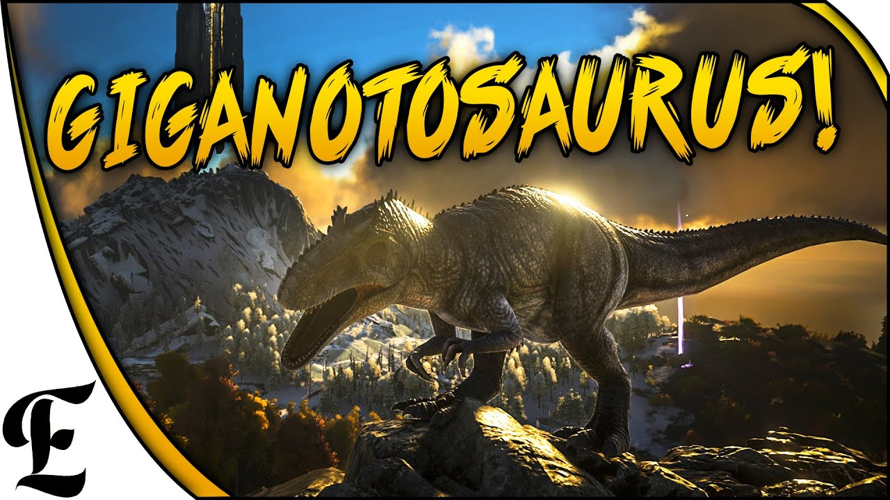 Ark survival evolved giganotosaurus sighting tribe warfare ark survival evolved giganotosaurus sighting tribe warfare youtube malvernweather