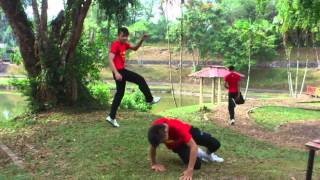 SAIYAN PEOPLE JUMPSTYLE at tasik danu SERIAN SARAW
