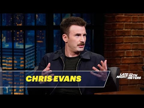 Chris Evans on the Perks of Having a Mustache