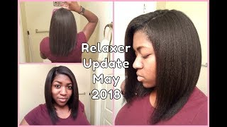 Relaxer & Hair Update May 2018