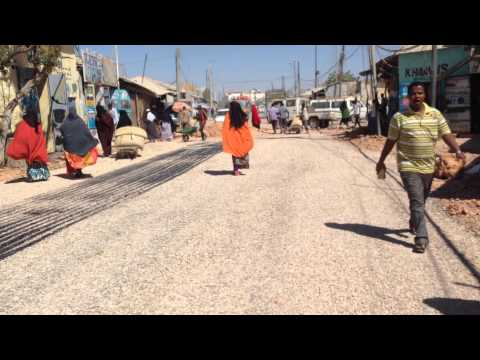 New Road of Galkayo District Puntland State of Somalia
