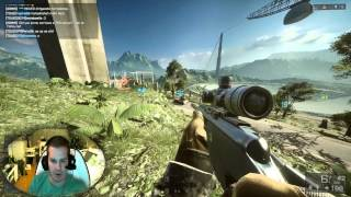 hd26 sniper sur bf4 face commentary multiplayer bf4 raigekitv hd