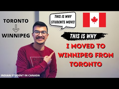 WHY I MOVE TO WINNIPEG? | INDIAN STUDENT IN CANADA