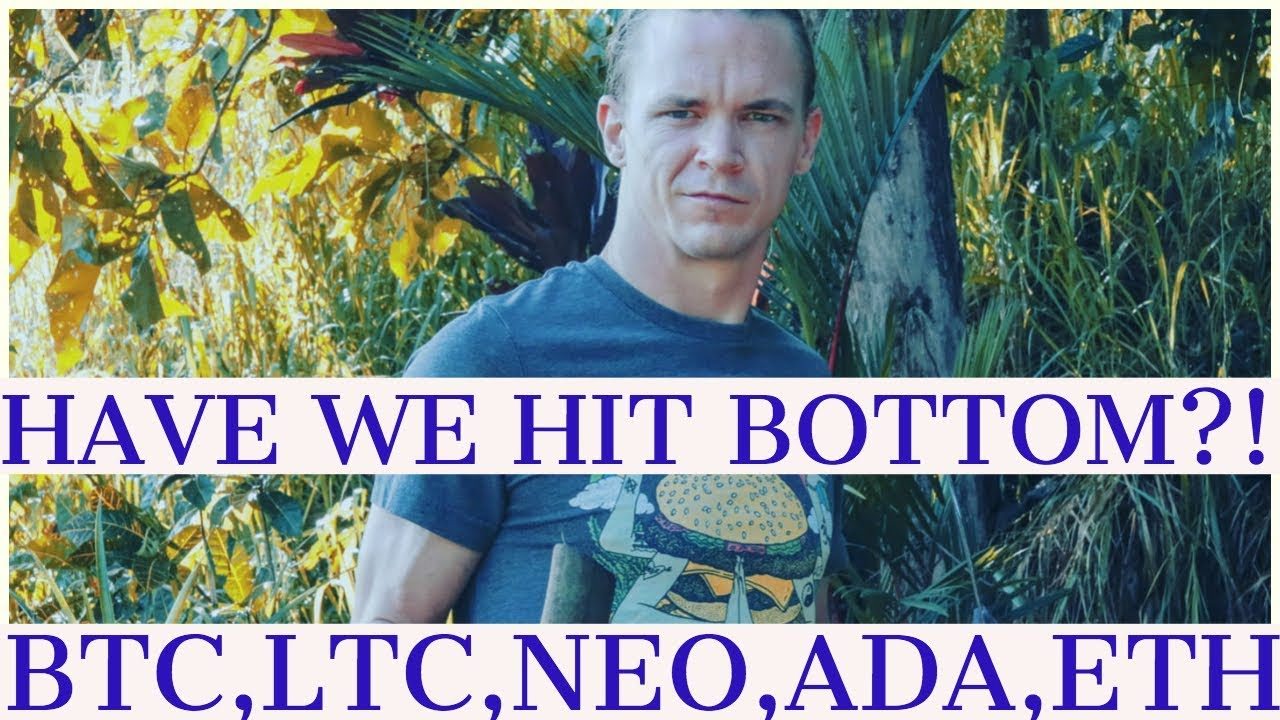 HAVE WE HIT BOTTOM?!  Bitcoin, Neo, OMG, Litecoin, Ethereum- Market updates (ARCANE BEAR )