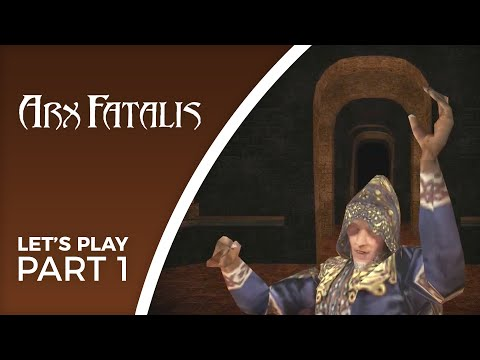 Let's Play Arx Fatalis - Part 1 - Am Shaegar Against Akbaa