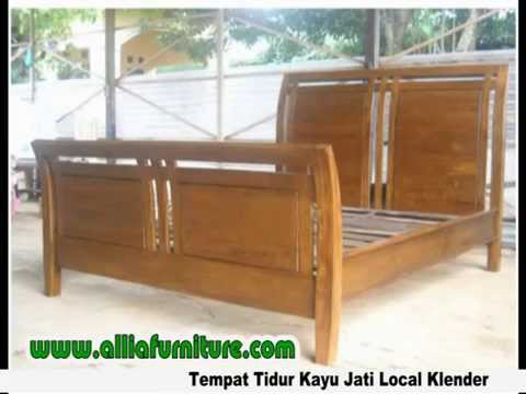 Tempat Tidur Kayu Jati Klender Jakarta Youtube