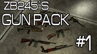 ZB245´s Gun Pack - Fallout New Vegas - Mod Spotlight - Pt 1 of 4