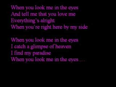Jonas Brothers - When You Look Me In The Eyes - YouTube