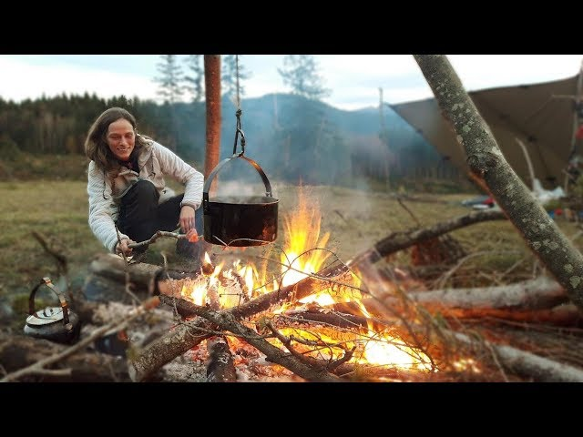 Bushcraft, Outdoor Kitchen, with Friends in Heaven