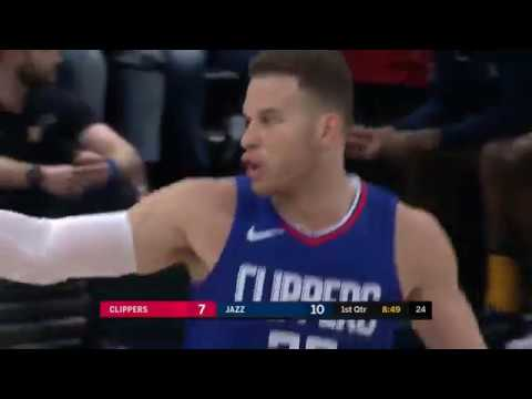 Blake Griffin (25 points) Highlights vs Utah Jazz 1-20-18