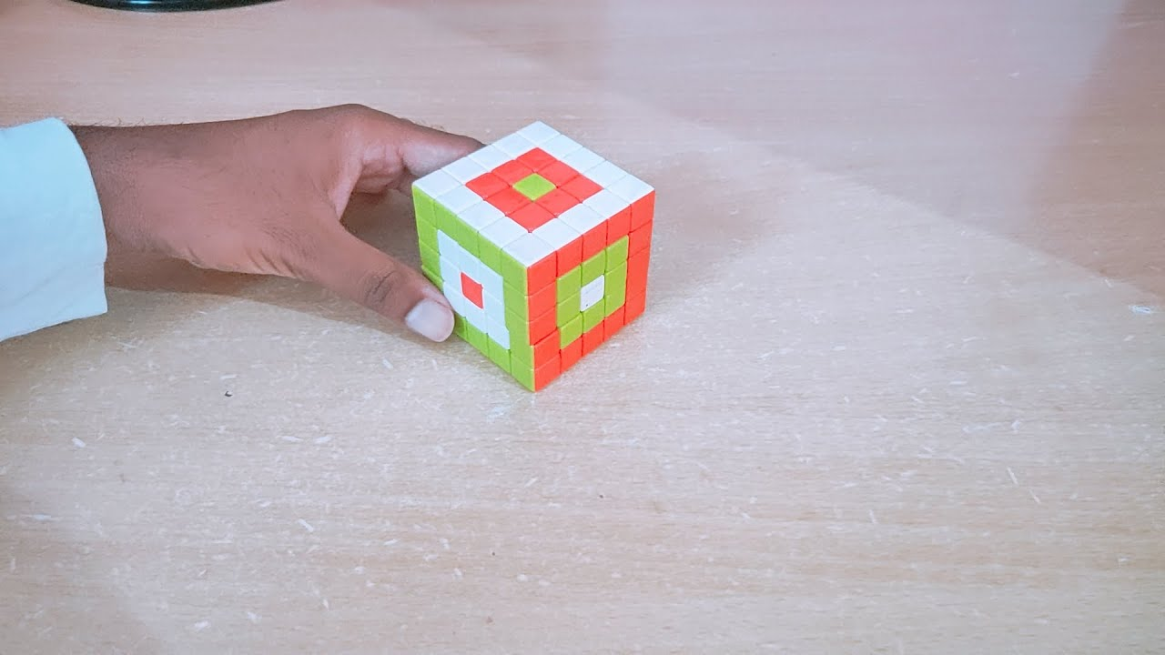"""Learn """"Ring In Ring In Dot"""" 5X5 Cube Pattern in Hindi By Kapil Bhatt"""