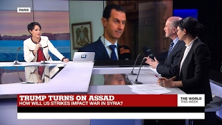 Trump turns on Assad  How will US strikes impact war in Syria? (part 1)