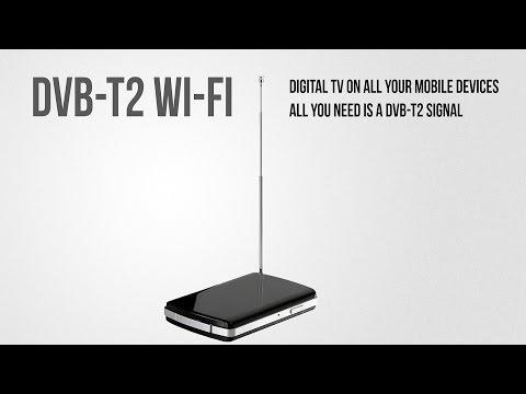 Wireless Mobile DVB-T2 Receiver - Digital TV in your pocket
