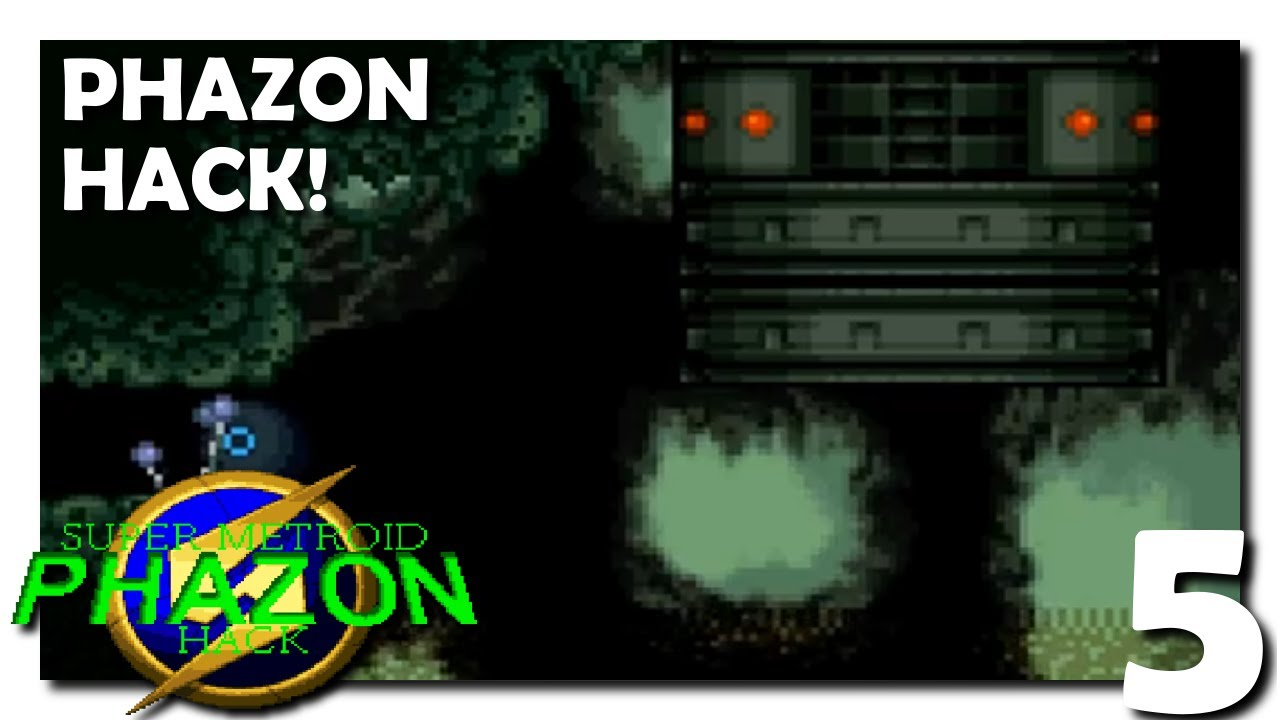 5 • Super Metroid Phazon Hack • Deep in the Sewers
