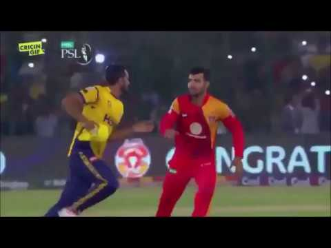 Hassan Ali & Shadab Fight in PSL Final - Funny