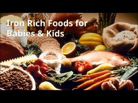 Top Iron Rich Foods For Babies & Kids