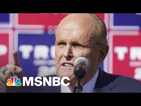 Report: Giuliani Reduces His Entourage To Cut Costs   MSNBC