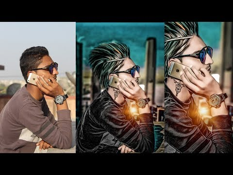 Awesome CB Editing   How To Edit Like CB Edits   Photoshop CC Tutorial   High Colour Contrast oil 