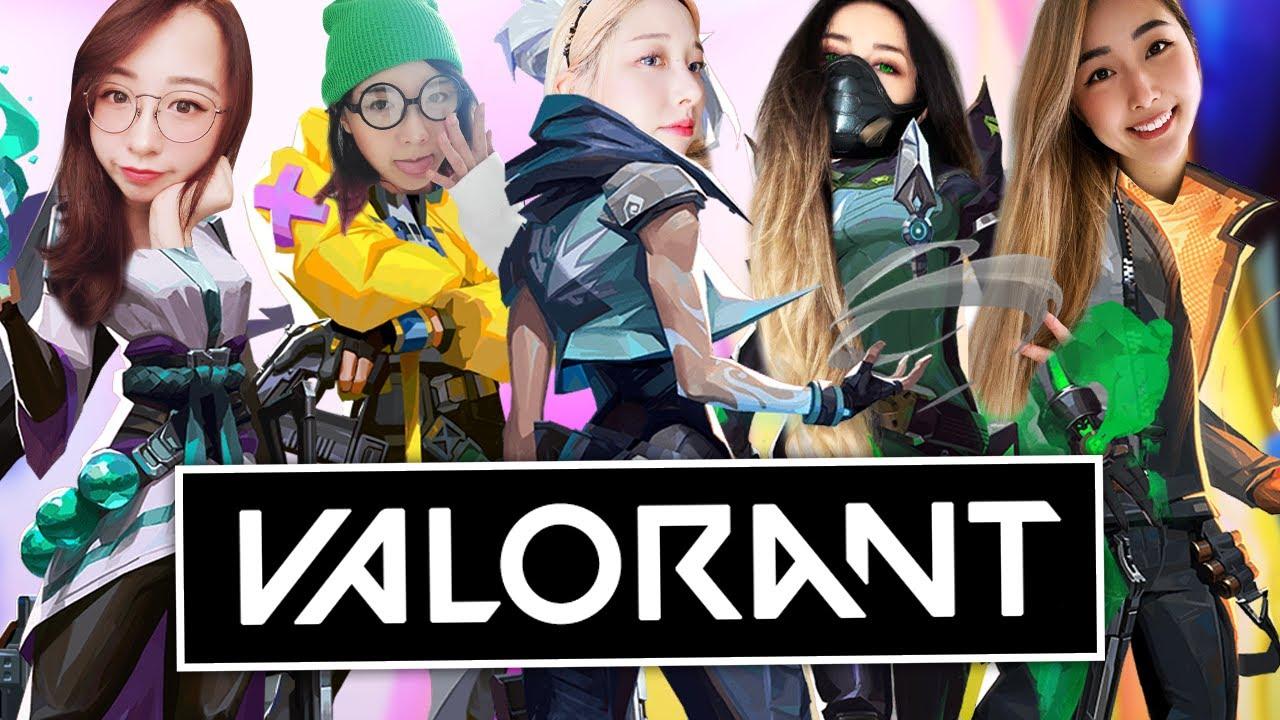girls play valorant 3