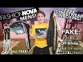 FASHION NOVA MENS UNBOXING (FAKE STREETWEAR) wtf is this