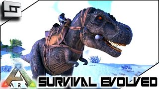 ARK: Survival Evolved - TAMING A TREX! E10 ( Procedurally Generated Gameplay )