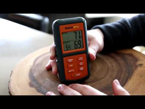 ThermoPro TP 08 Digital Wireless Thermometer - Introduction