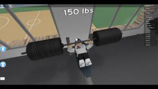 Exercising In Roblox! ( Roblox Fitness Center )