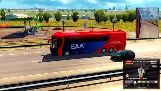 EAA BUS MAP 4.4 [Update v1.28] - Euro Truck Simulator 2 1.28.1.3s