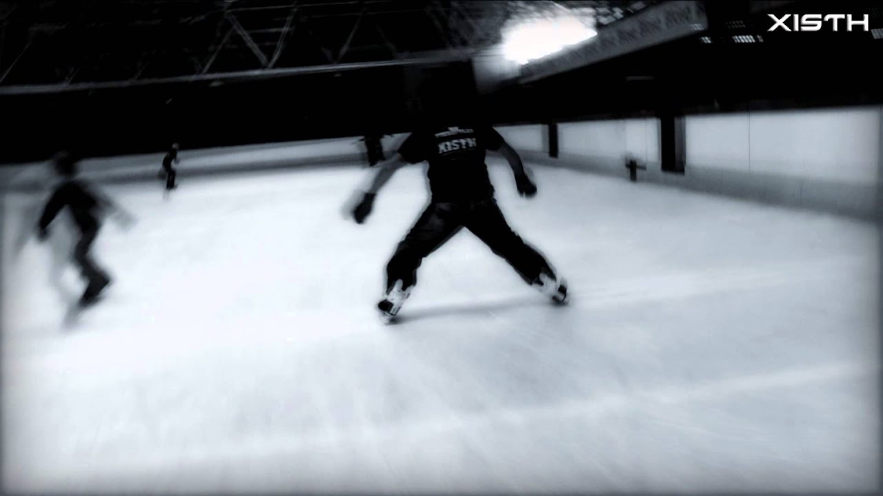 Freestyle Ice Skating Tutorial  Trick: Crossed Bootslide  How To Ice Skate
