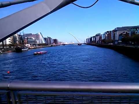 Sean O'casey Bridge - Liffey River - Dublin