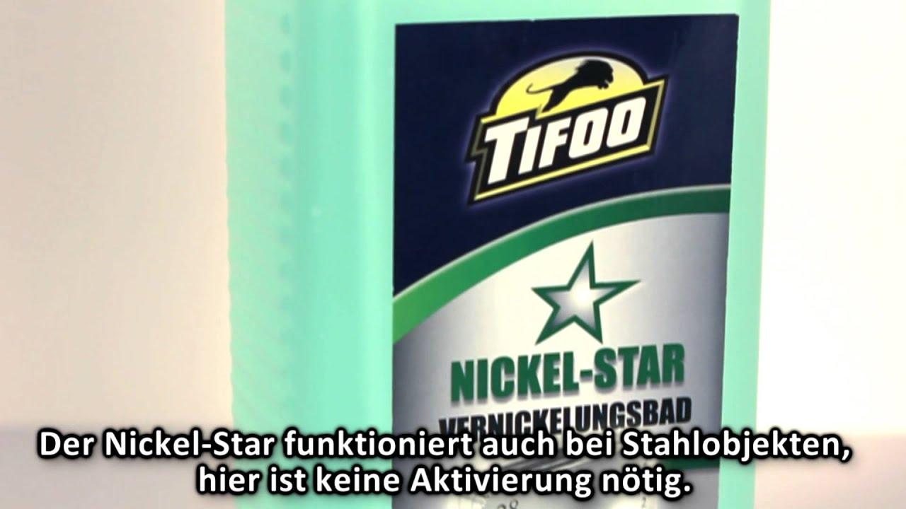 Relativ Tifoo Nickel-Star Vernickelungsbad, Vernickeln - Selbst vernickeln DJ71