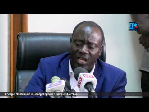 Energie électrique : le Sénégal appelé à l'aide en Gambie