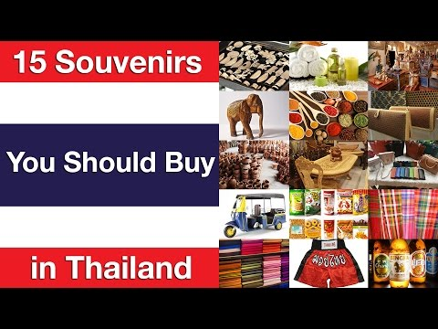 15 Souvenirs You Should Buy in Thailand