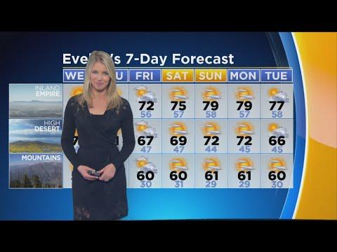 Evelyn Taft's Weather Forecast (Nov. 7)