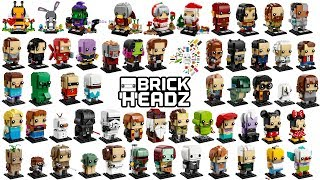 Lego Brickheadz 2018 - Compilation of all Sets