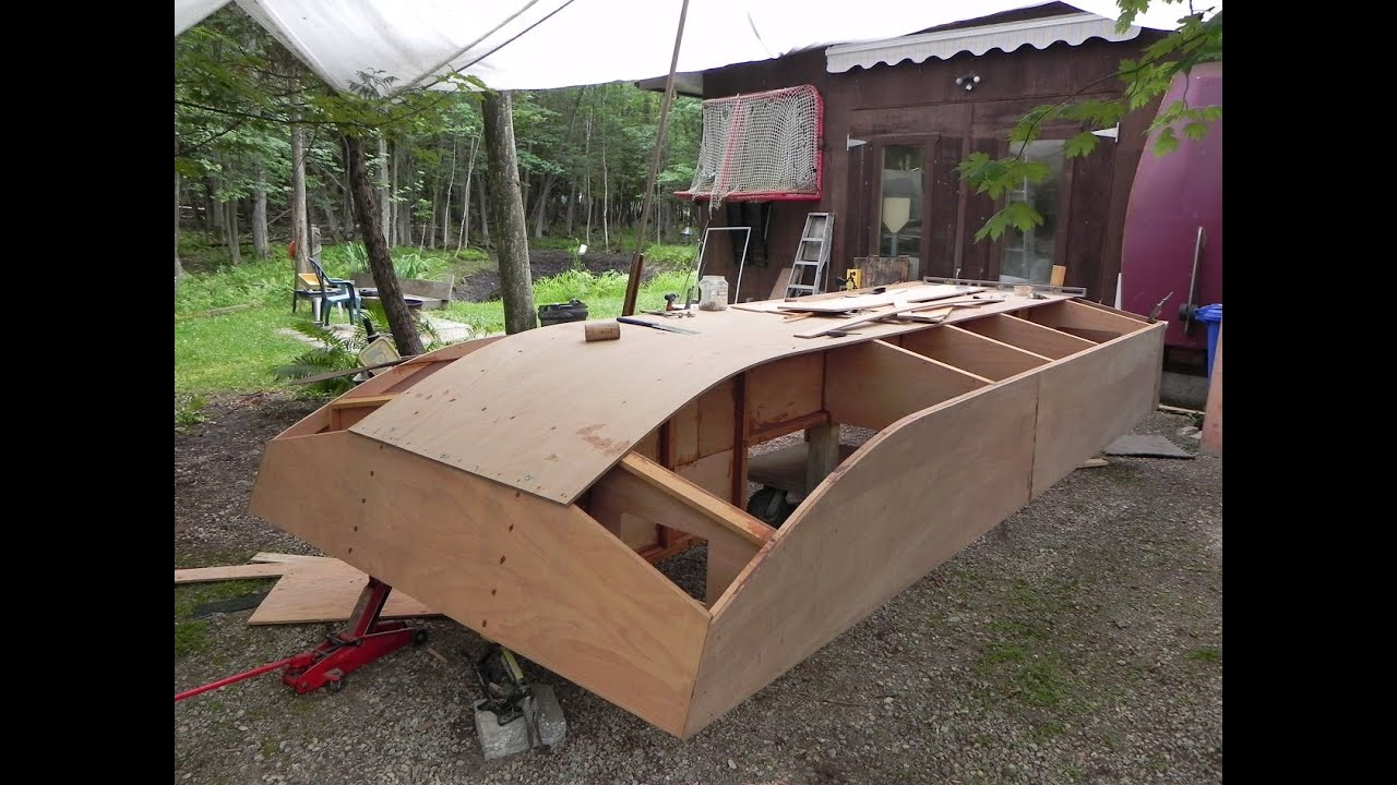 Build a cheap tiny house boat dianne 39 s rose youtube for How to build a cheap house on your own